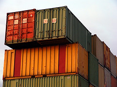 Containers by Sandor Volenszki, https://www.flickr.com/photos/s_volenszki/2218589271